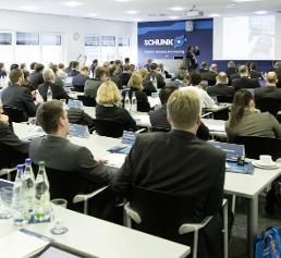 Teilnehmer Schunk Expert Days on Service Robotics