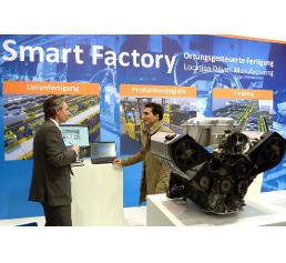 Messe: Hannover Messe 2015: Integrated Industry – Join the Network!