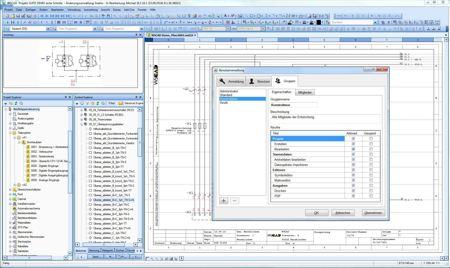 E-CAD-Software: Zugriffsrechte einfach definieren