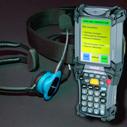 MDE-Terminal mit Spracherkennung: Minicomputer mit Scanner und Sprachführung