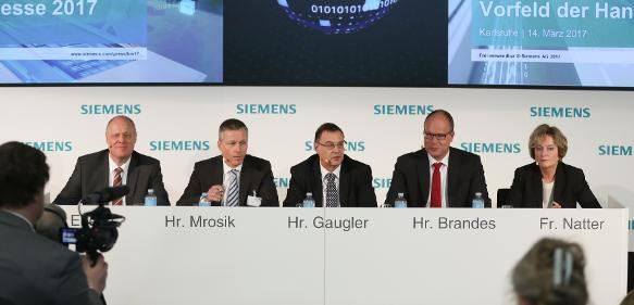 Siemens Pressekonferenz Karlsruhe