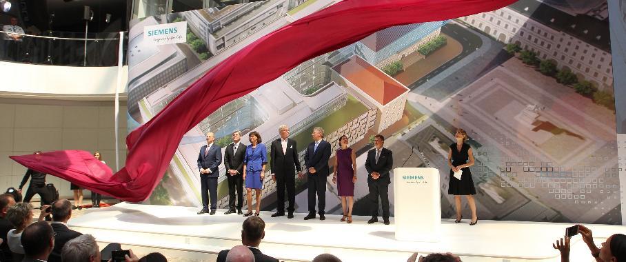 Eröffnung der neuen Konzernzentrale in München