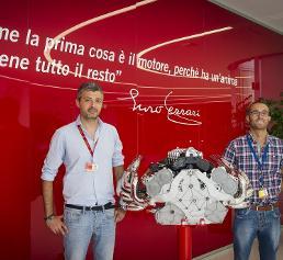 Mario Kuluridis und Luca Bacigalupo