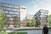 Mitsubishi Electric investiert in Ratingen:: Neubau nach energetischen Maßstäben