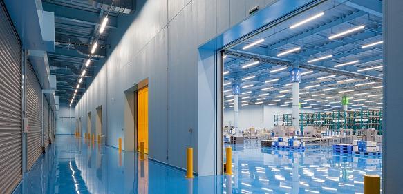 Neues Logistik- und Vertriebszentrum