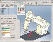 Konstruktion + Entwicklung: Simulierte Roboter