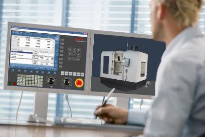 Rexroth-Tool erleichtert das Anlernen an CNC-Systemen: Der Trainer sitzt im Web