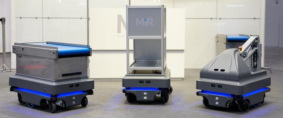 Mobile Industrial Robots MiR200