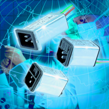 Gerätestecker-Kombielemente: Innenmetallisierte Kunststoffgehäuse