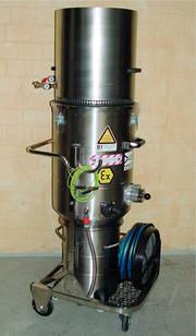 Druckluftsauger: Neuer Druckluftsauger mit Zertifikat