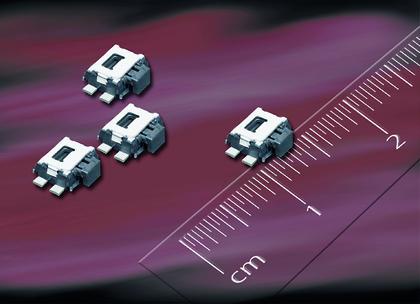 Miniaturschalter: Für die Oberflächenmontage