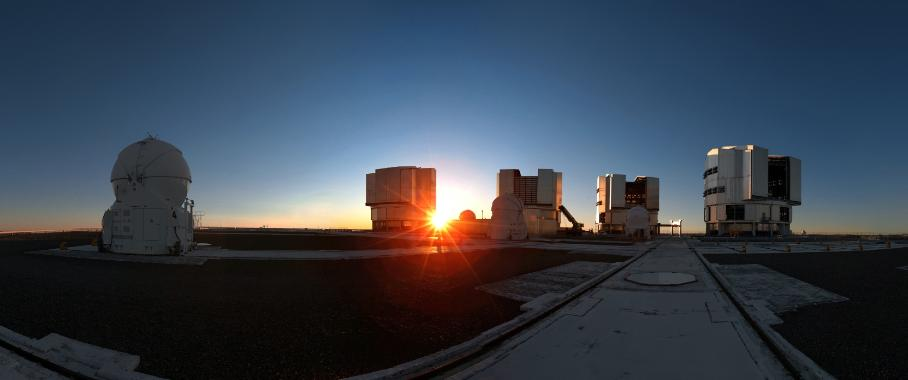 Siemens Netzstation Paranal-Observatorium Chile