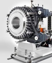 Rohrextrusion: Inline-Dimensionswechsel bis 450Millimeter