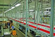 Sivaplan als Partner von Tönnies: Materialfluss hängt an der Decke