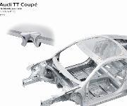 Halbhohlstanznieten im Audi TT Coupé