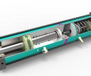 Antriebszylindern vom Typ Tox-Kraftpaket