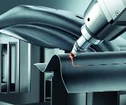 Laserschneiden einer B-Säule