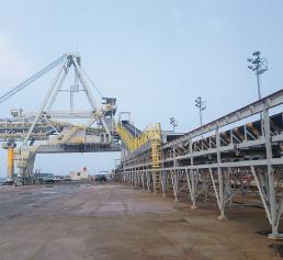 Hafen der Insel Borneo