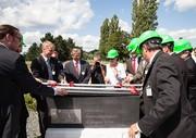 Grundstein für energieeffiziente Modellfabrik: ETA-Fabrik auf dem Campus Lichtwiese