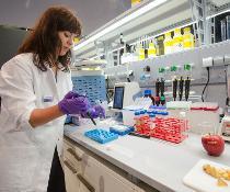 Auf der analytica Untersuchung von Lebensmittel in den Live Labs