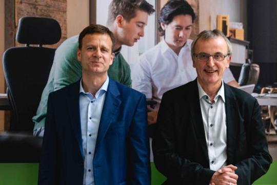 Dr. Joachim Dams und Jens Roseneck