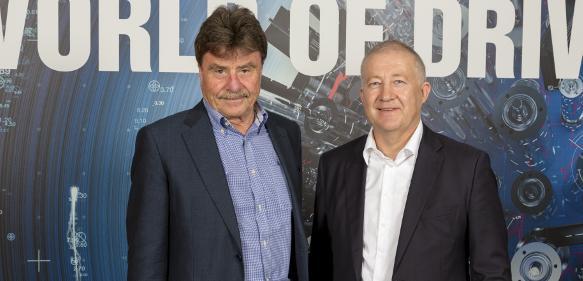 Dr. Karl-Walter Braun und Eugen Elmiger