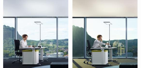 Licht Büro biodynamisches licht waldmann scope