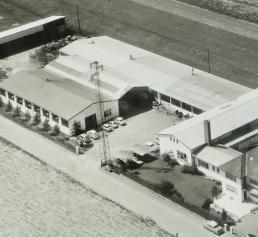 Weiss Kunststoffverarbeitung, Luftbild aus dem Jahr 1972